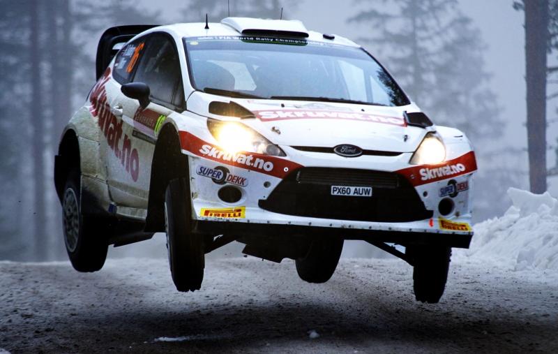 Henning Solberg, Rally Sweden 20140207