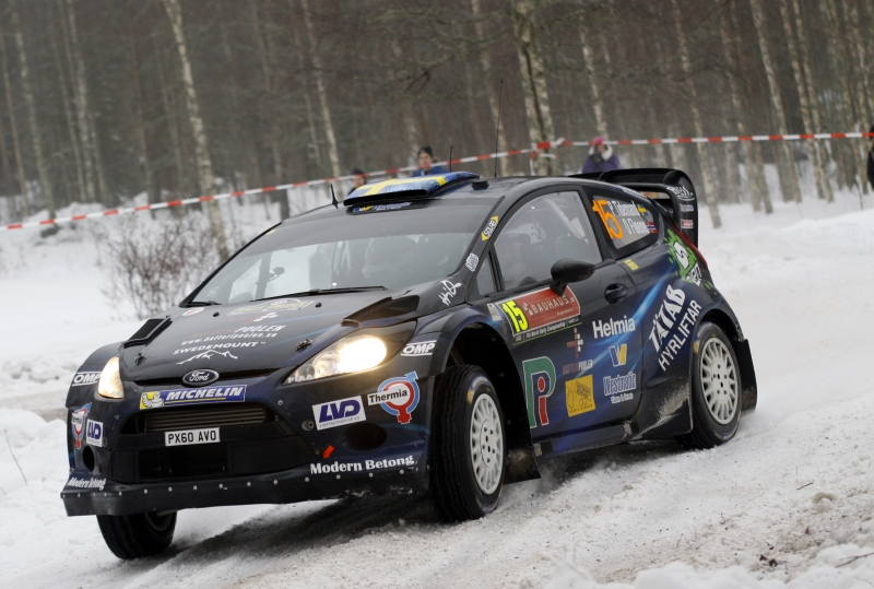 Pontus Tidemand, Rally Sweden 20140207